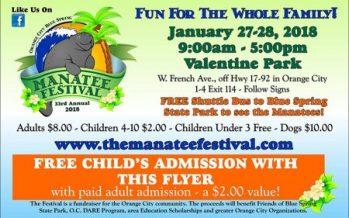 2018 Manatee Festival