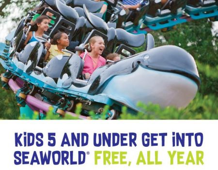 SeaWorld Preschool Pass 2018