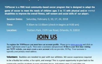 Orlando Special Needs Soccer Program