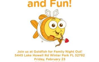 Goldfish Swim School Family Night Out