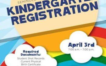 Seminole County Kindergarten Registration