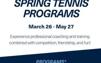 USTA Spring 2018 Programs