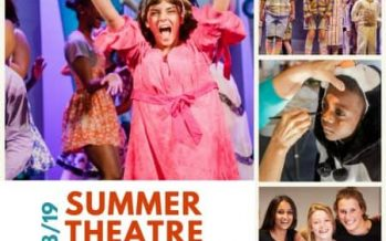 Garden Theatre Summer Camps 2018