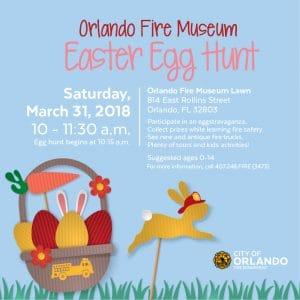 Orlando Fire Museum Easter Egg Hunt