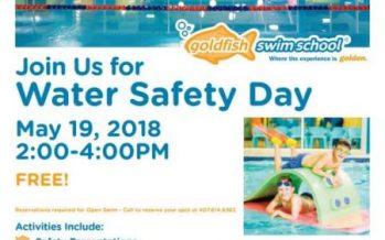 Goldfish Swim School Safety Day