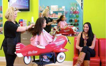 Kids Haircut Salon Opening