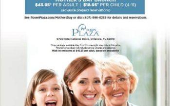 Rosen Plaza Mother's Day Brunch