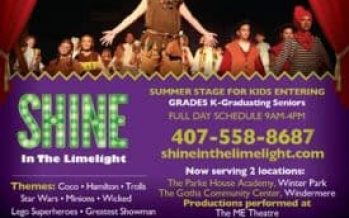 Shine in the Limelight Summer Auditions