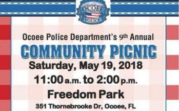 Ocoee Policy Department Community Picnic