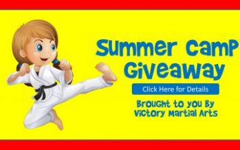 Victory Martial Arts Summer Camp Giveaway