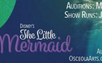 Auditions open at Osceola Arts