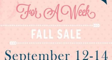 Boutique for a Week Fall Sale 2018