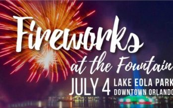 Lake Eola Fireworks 2018