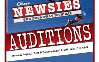 MCP Theater Newsies Auditions 2018