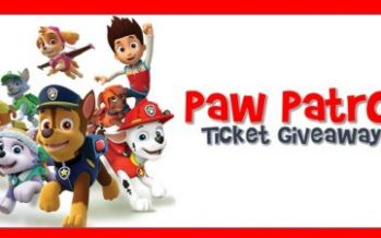 Paw Patrol Ticket Giveaway 2018