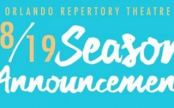 Orlando REP Theatre New Season 2018