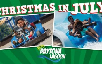Daytona Lagoon Christmas in July 2018