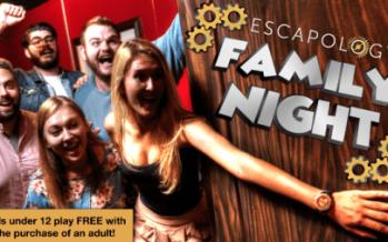 Escapology Family Night 2018