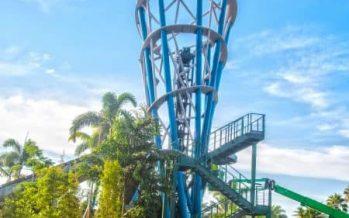 SeaWorld Orlando Infinity Falls Opening