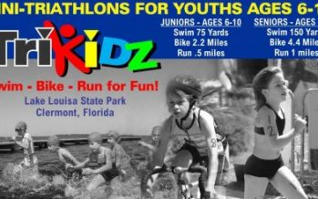 Youth Mini Triathlon in Clermont