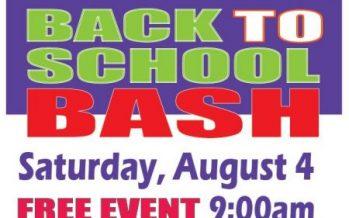 Back to School Bash at O2B Kids