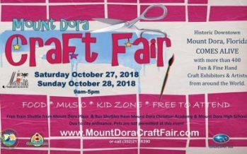 Mount Dora Craft Fair 2018