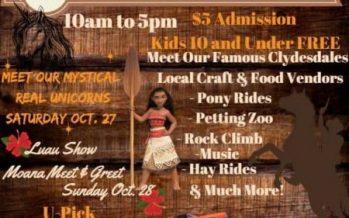 Horsepower Ranch Pumpkin Festival 2018