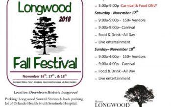 Longwood Fall Festival 2018