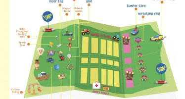 Florida Kids and Family Expo 2018 Map