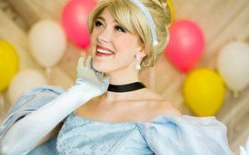 Vintage Tea Party with Cinderella