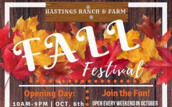 Hastings Ranch & Farm Fall Festival 2018