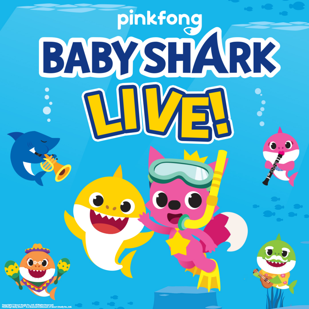 Baby Shark Live! is coming to Dr. Phillips Center