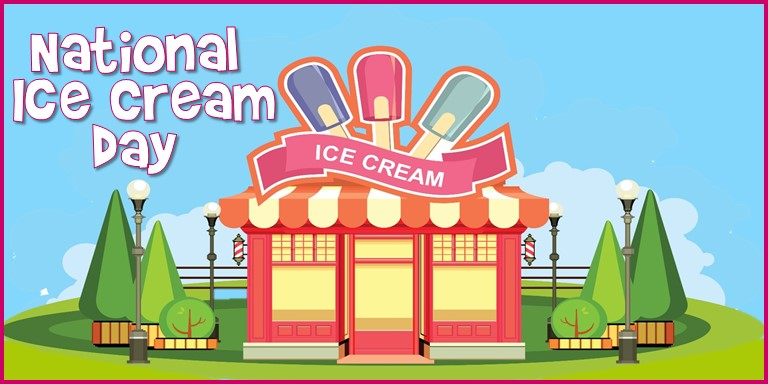 National Ice Cream Day 2019