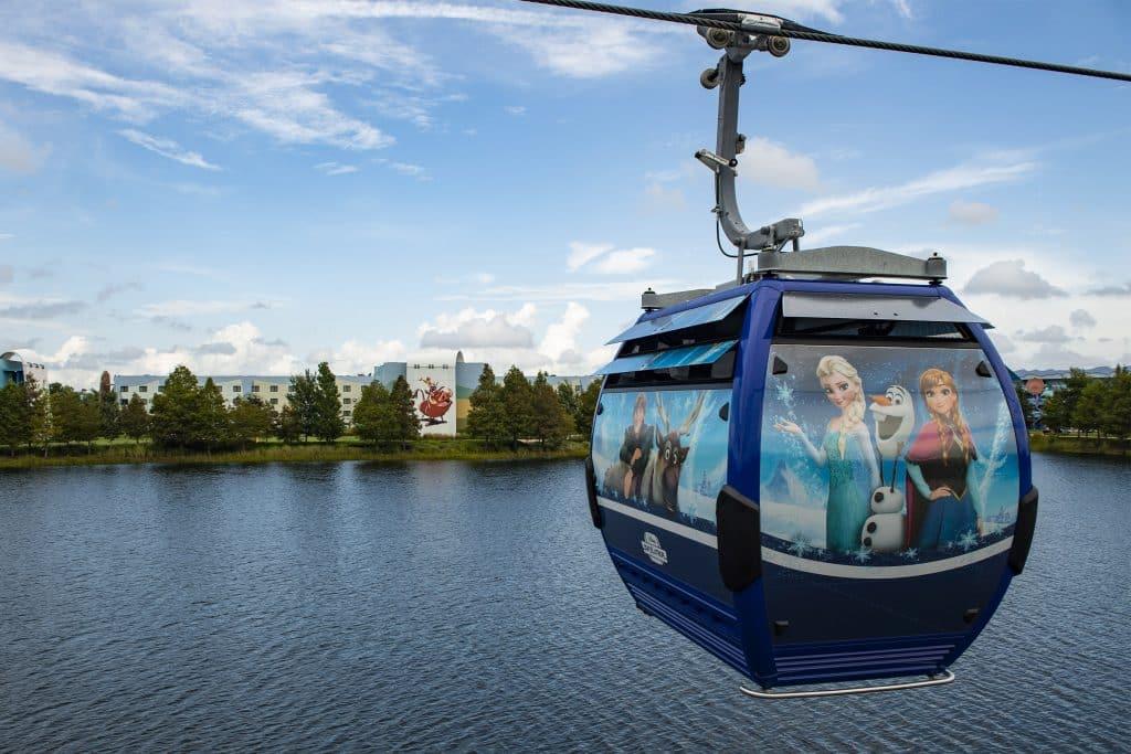 Disney Skyliner Opens September 2019