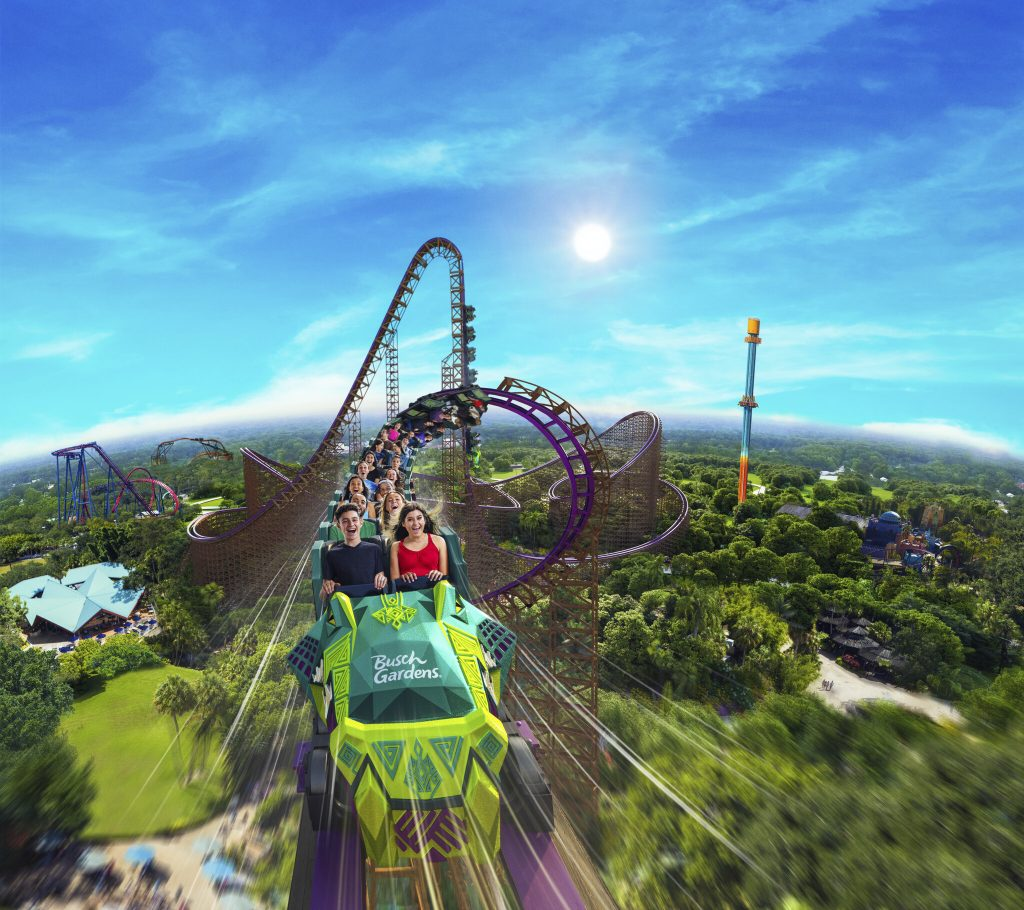 SeaWorld and Busch Gardens Announce New Coasters and Slides for 2020
