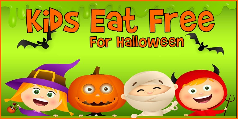 Kids Eat Free for Halloween 2019