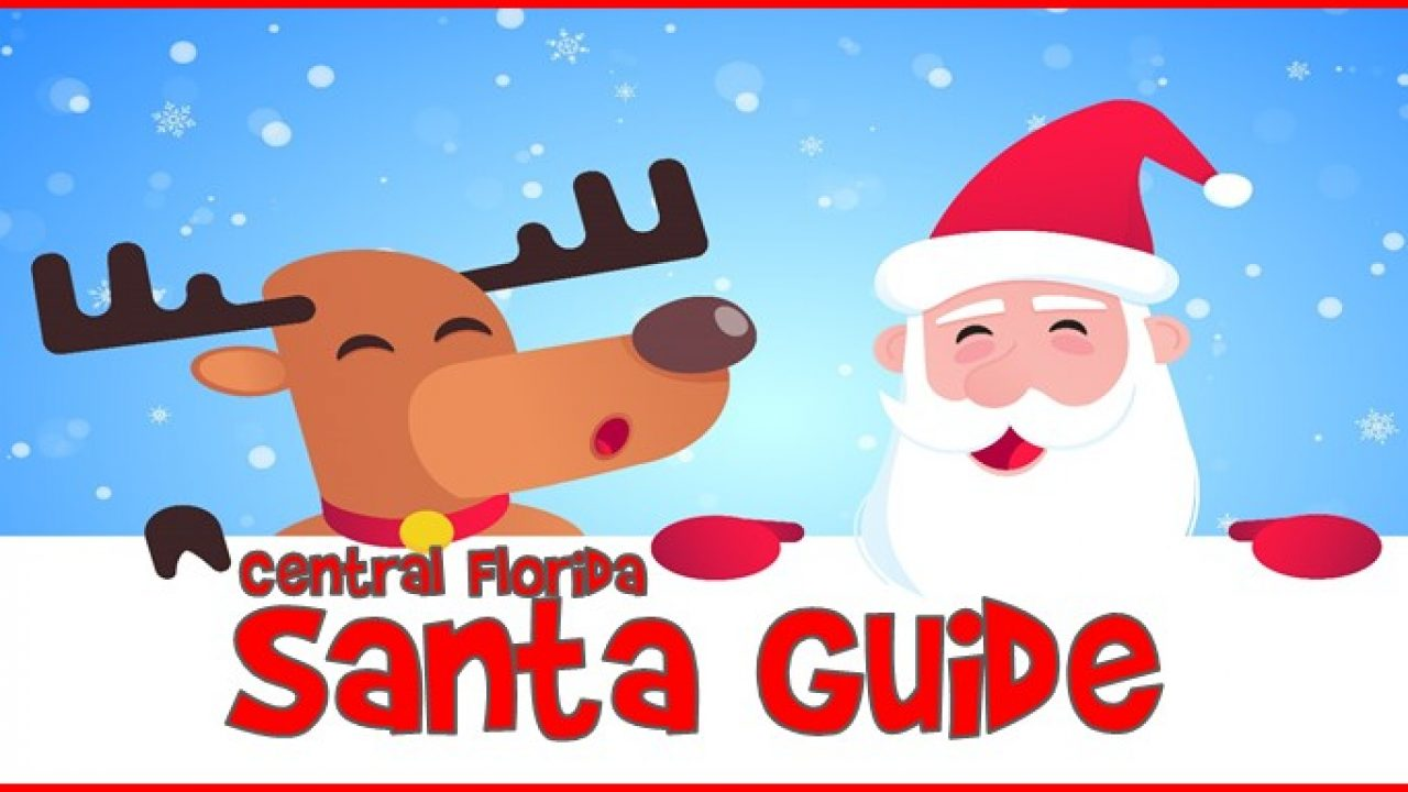 Central Florida Santa Events Guide for 2020