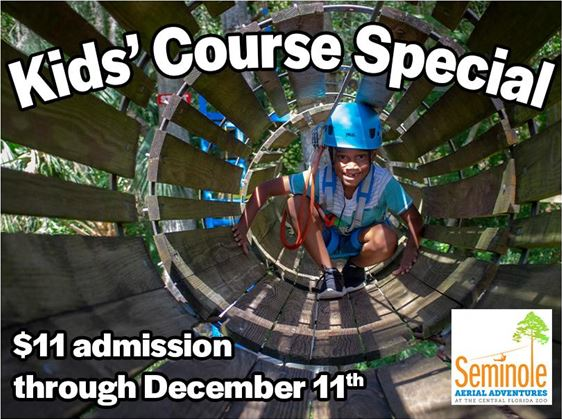 Central Florida Zoo Discounts Seminole Aerial Adventures Kids' Course