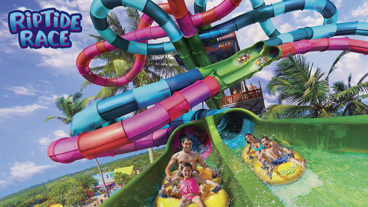 Riptide Race Comes to Aquatica