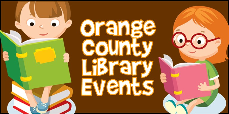 March 2021 Events with the Orange County Library