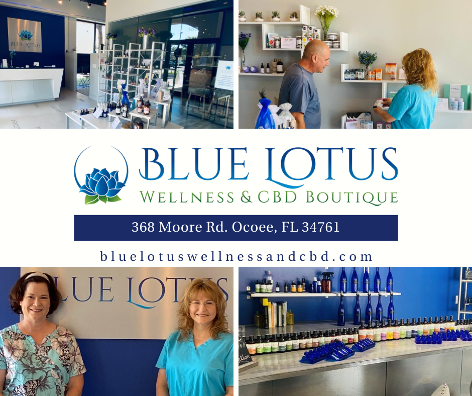 Blue Lotus Wellness and CBD Boutique Now Open