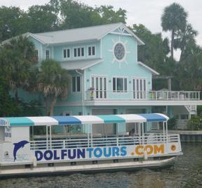 Dolphin,Manatee Sightseeing River Tours