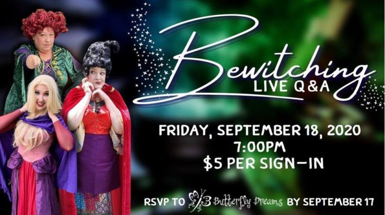 Bewitching Live Halloween Event Online