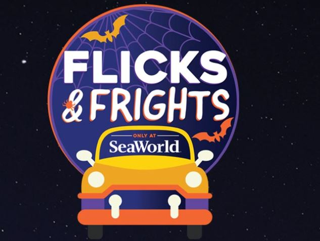 SeaWorld Flicks and Frights Drive In Movies