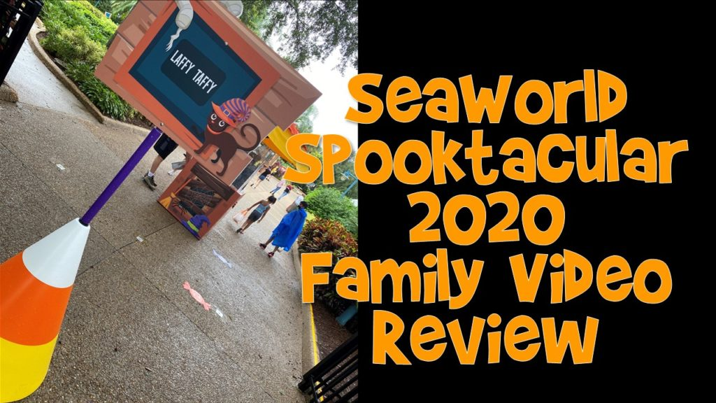SeaWorld Spooktacular Family Video Review 2020