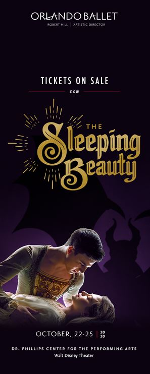 Orlando Ballet the Sleeping Beauty Playing at Dr. Phillips Center