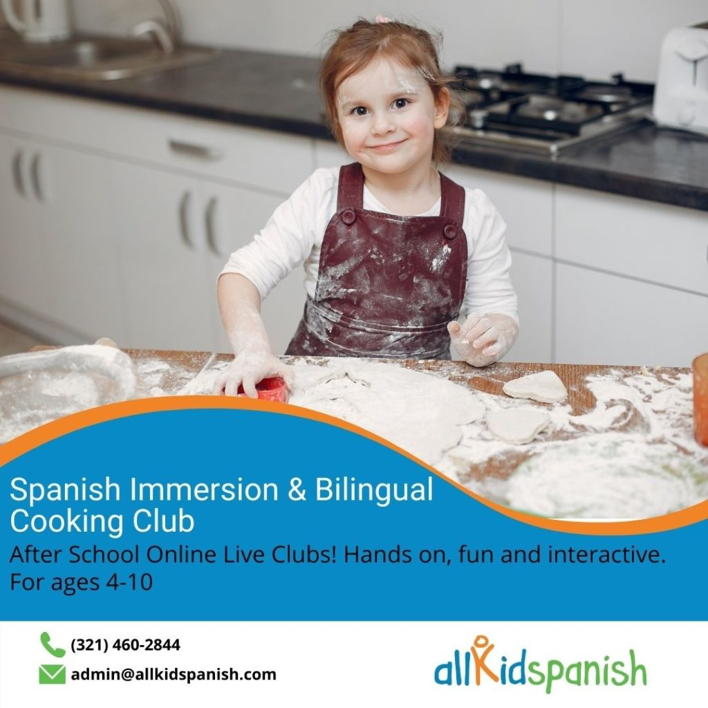 All Kids Spanish Bilingual Cooking Classes