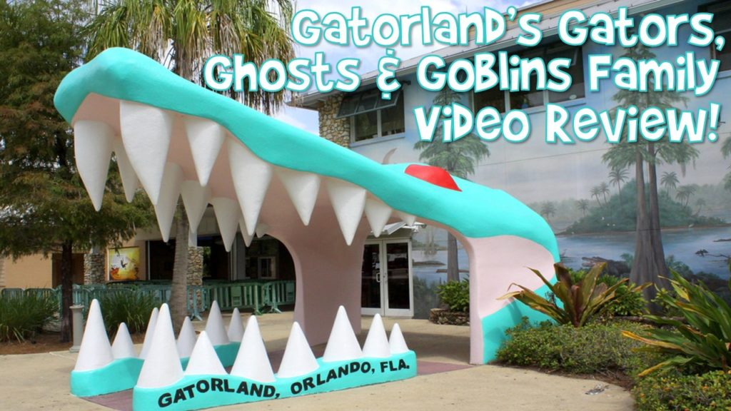 Gatorland Gators, Ghosts and Goblins 2020 Family Video Review