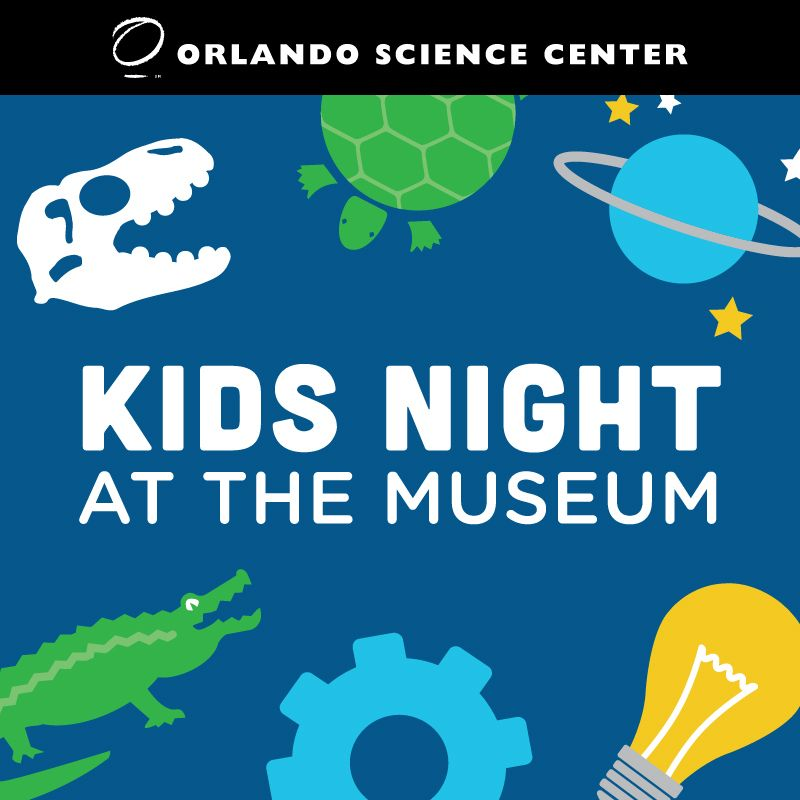 Kids Night at the Museum Creeps in Orlando Science Center