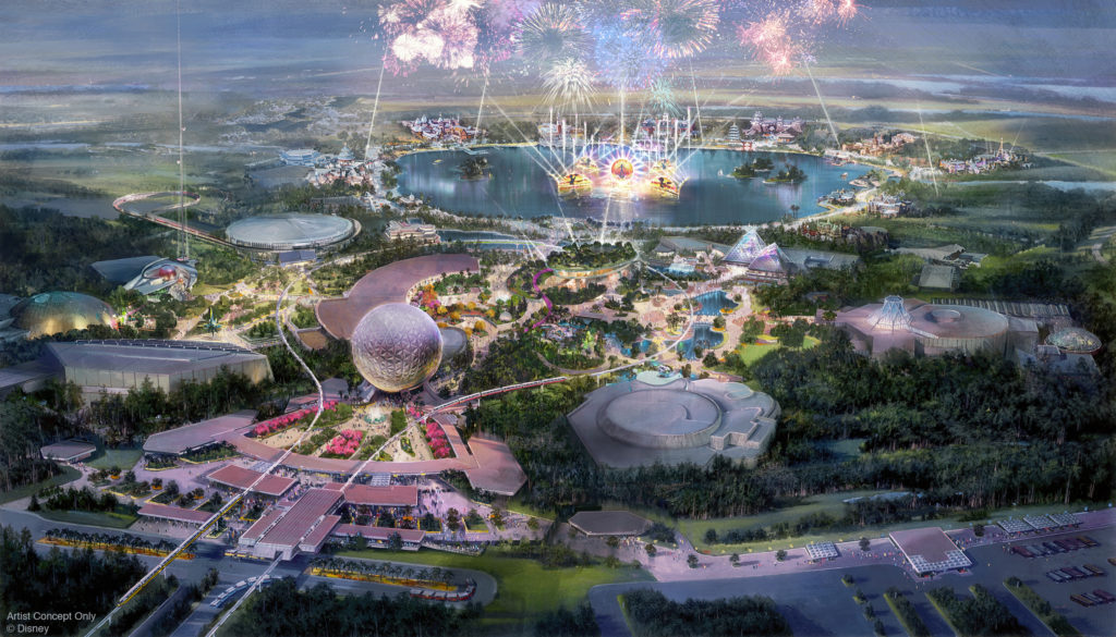 Historic Transformation of Epcot Continues On at Disney